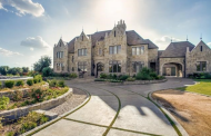 $2.375 Million Stately Stone Home In Frisco, TX