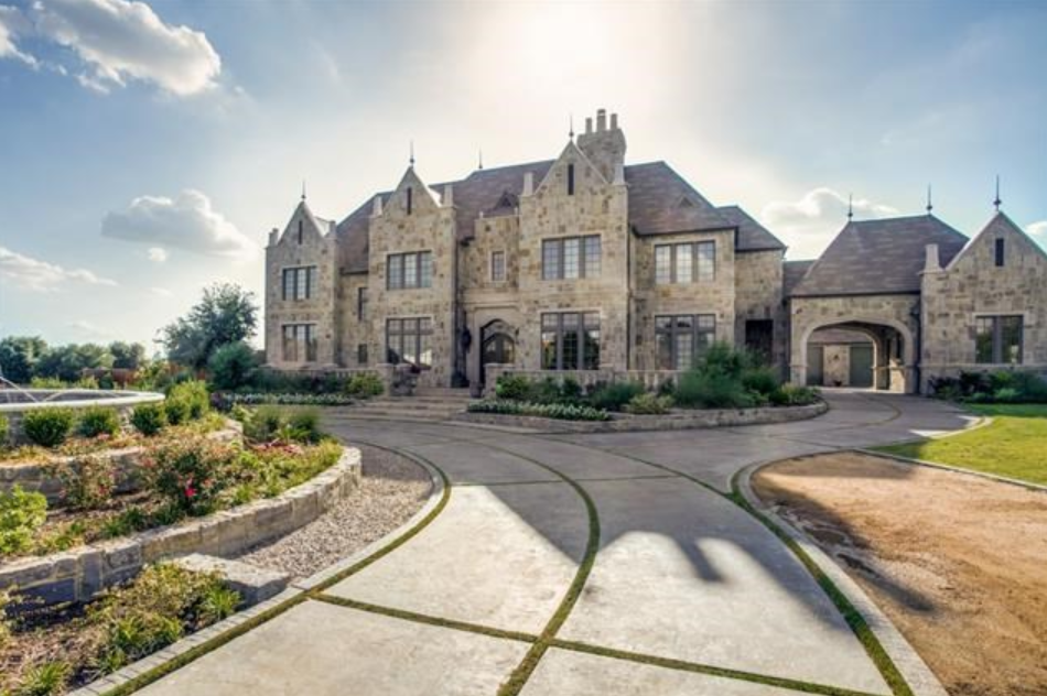$2.375 Million Stately Stone Home In Frisco, TX