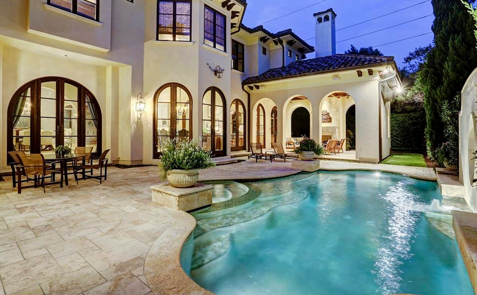 4 625 Million Spanish Colonial Mansion In Houston Tx Homes Of The Rich