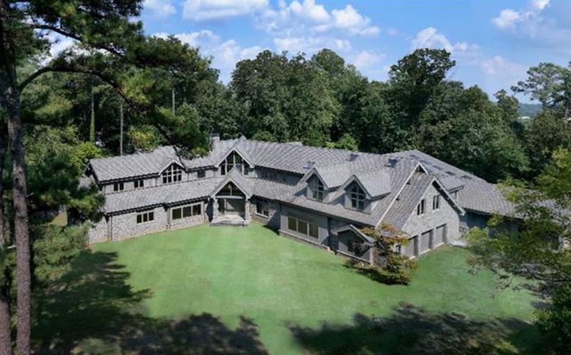 24,000 Square Foot Newly Built Unfinished Mega Mansion In Atlanta, GA