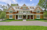 $8.395 Million Newly Built Shingle Mansion In Riverside, CT