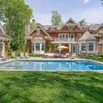 Rear Exterior w/ Pool & Pool House