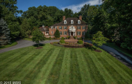 $4.695 Million Brick Georgian Mansion In Bethesda, MD