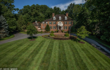 $4.695 Million Brick Georgian Mansion In Bethesda, MD