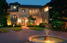 $14.2 Million European Inspired Waterfront Mansion In Austin, TX