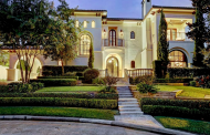 $4.625 Million Spanish Colonial Mansion In Houston, TX