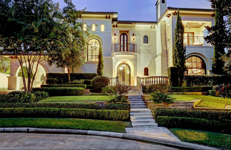 4 625 Million Spanish Colonial Mansion In Houston Tx Homes Of