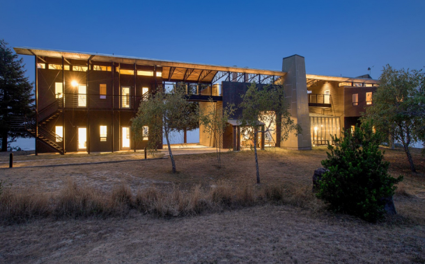 $6 Million Contemporary Beauty On 218 Acres In Stewarts Point, CA