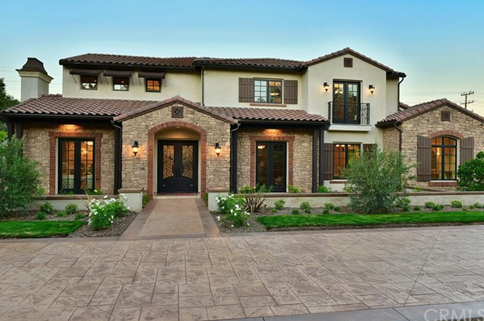 4 528 Million Newly Built Tuscan Inspired Home In Arcadia