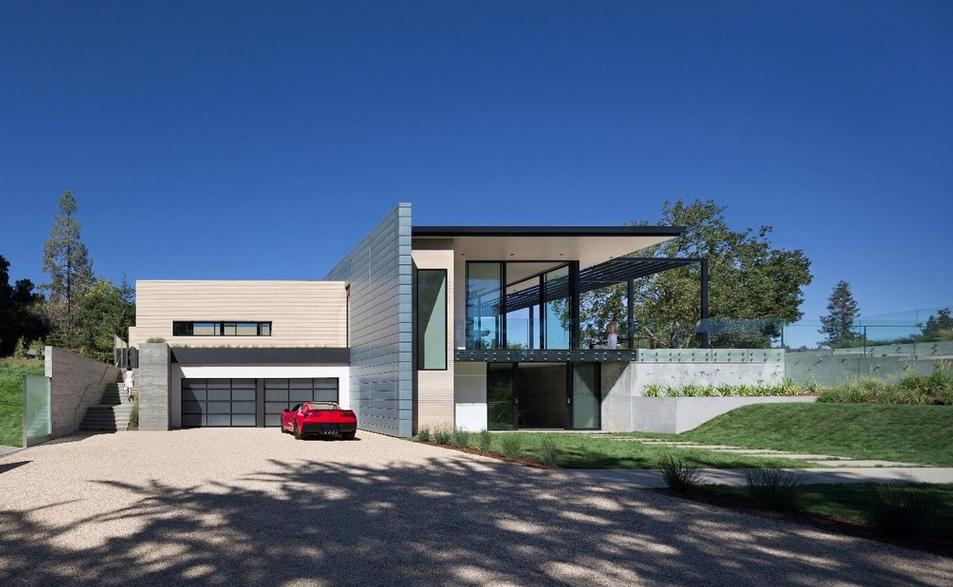 8 95 Million Newly Built Modern Home In Los Gatos Ca