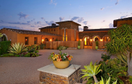 12,000 Square Foot Mediterranean Mansion In Rancho Santa Fe, CA Re-Listed
