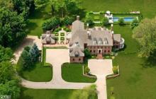 $5.9 Million Brick Georgian Colonial Mansion In Ridgefield, CT