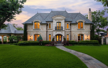 $5.65 Million French Inspired Stone Mansion In Dallas, TX