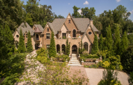 14,000 Square Foot French Inspired Brick & Stone Mansion In Atlanta, GA