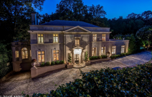 $12 Million Beaux Arts Style Limestone Mansion In Washington, DC
