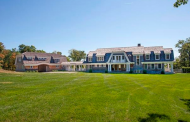 $6.9 Million Stone & Shingle Lakefront Mansion In Kent, CT