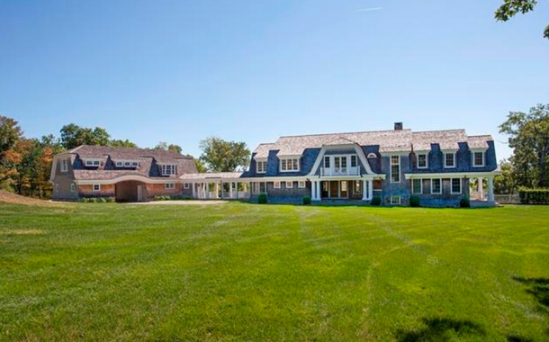 $6.9 Million Stone & Shingle Lakefront Mansion In Kent, CT
