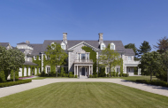 $35 Million Georgian Colonial Stone Mansion In Greenwich, CT
