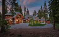 $5.8 Million Wood & Stone Home In Truckee, CA