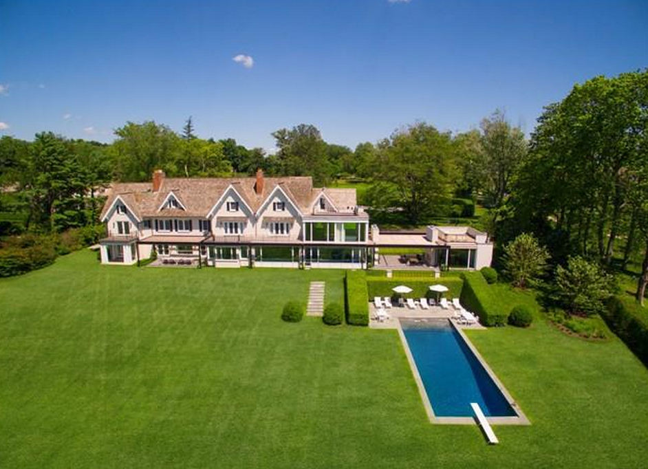 $26 Million Waterfront Colonial Mansion In Darien, CT