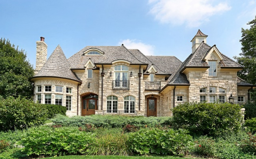 $2.995 Million French Inspired Stone Home In Oak Brook, IL