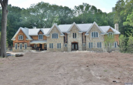 13,500 Square Foot Stone & Stucco Mansion Under Construction In Saddle River, NJ