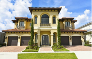 $3.9 Million Newly Built Mediterranean Mansion In Reunion, FL