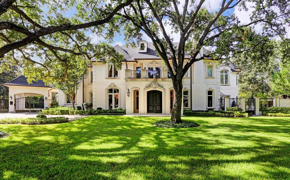 $4.9 Million French Inspired Mansion In Houston, TX