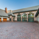 8-car Garage & Motor Court