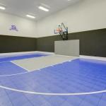 Indoor Half Court Basketball Court