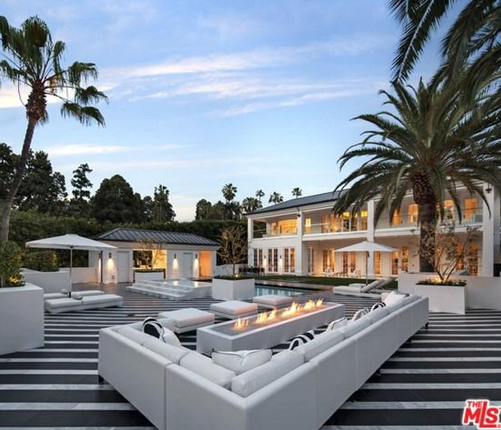 $38 Million Newly Listed Estate In Beverly Hills, CA