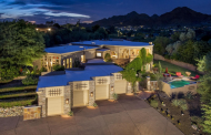 $3.9 Million Contemporary Mansion In Paradise Valley, AZ