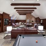 Billiards/Rec Room with Wet Bar