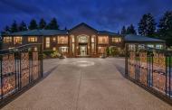 $16.5 Million Brick Mansion In Bellevue, WA