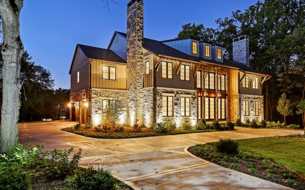 $3.995 Million Newly Built Mansion In Hinsdale, IL