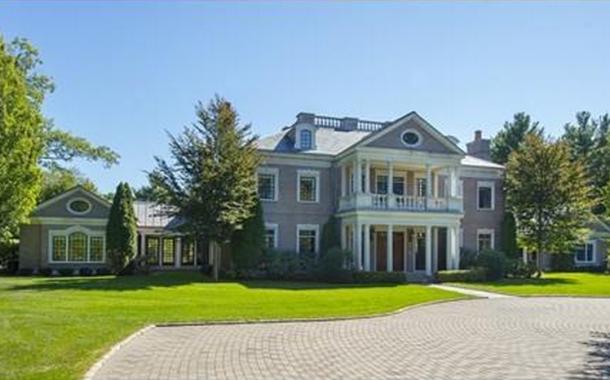 $17.9 Million 21,000 Square Foot Brick Georgian Mansion In Weston, MA