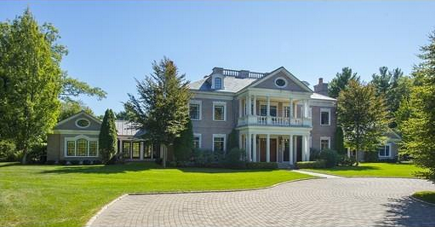 $17.9 Million 21,000 Square Foot Brick Georgian Mansion In Weston, MA