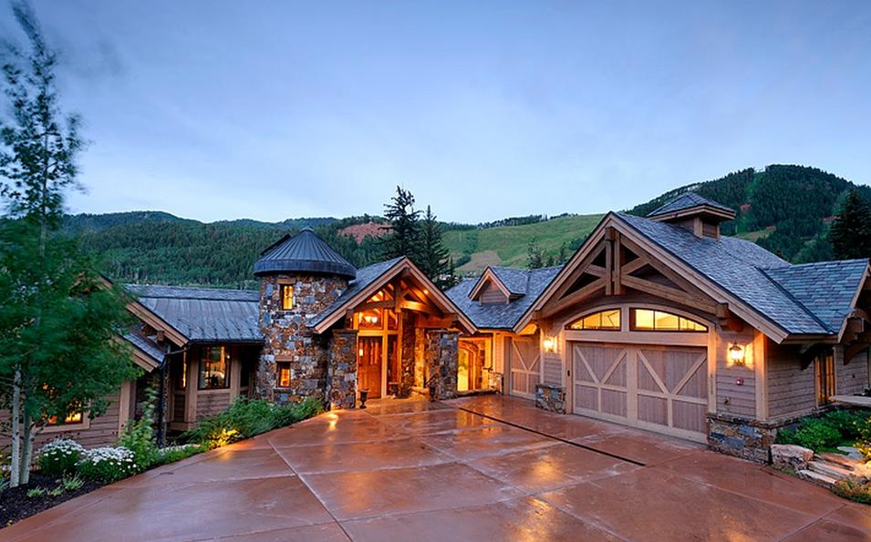 $8.89 Million Mountaintop Mansion In Aspen, CO