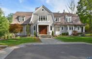 $4.295 Million Shingle Home In Saddle River, NJ