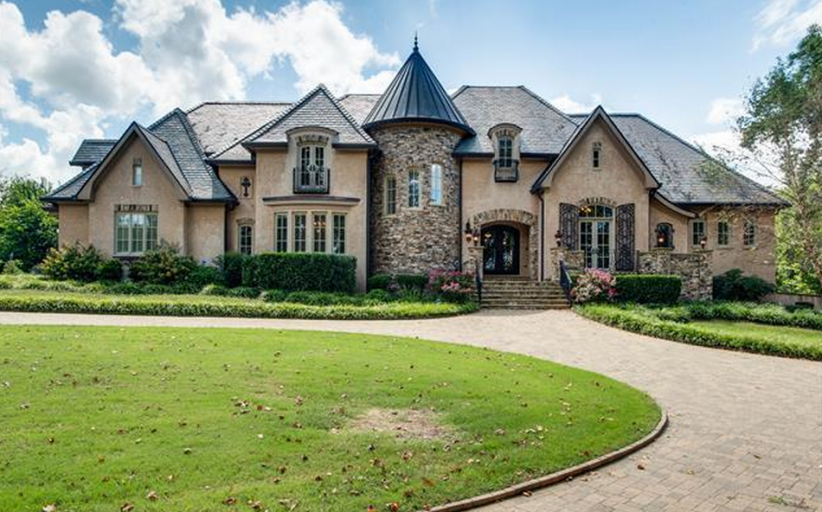 $2.25 Million Brick Mansion In Thompsons Station, TN
