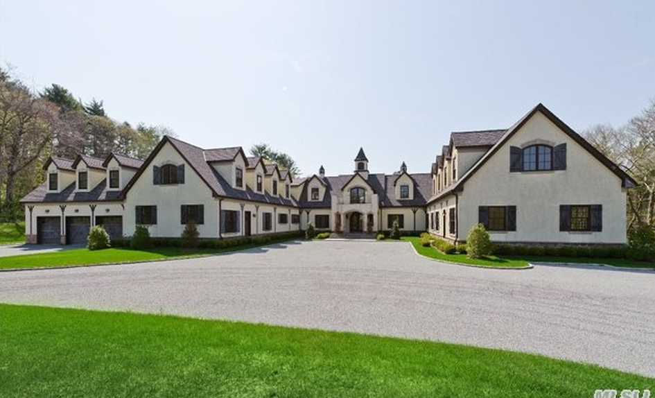 11,000 Square Foot French Country Inspired Mansion In Matinecock, NY