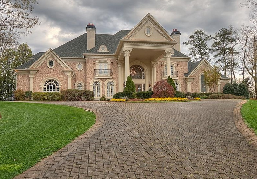 14 000 Square Foot Brick Mansion In Atlanta Ga Homes Of