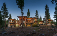 $7.195 Million Newly Built Mountaintop Contemporary Home In Truckee, CA