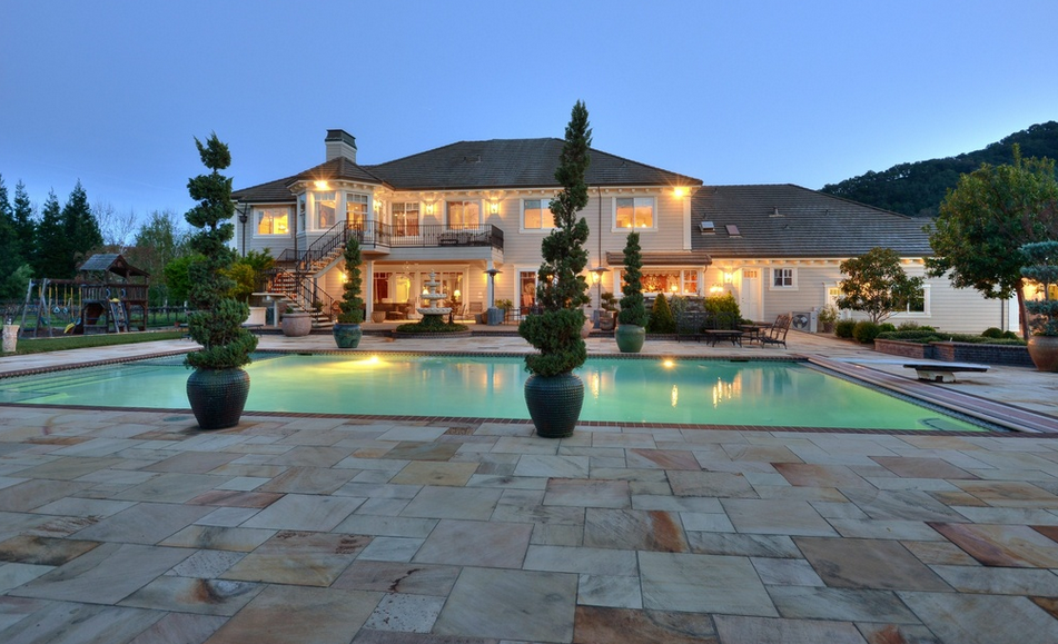7 795 Million Stone Mansion In Morgan Hill Ca Homes Of
