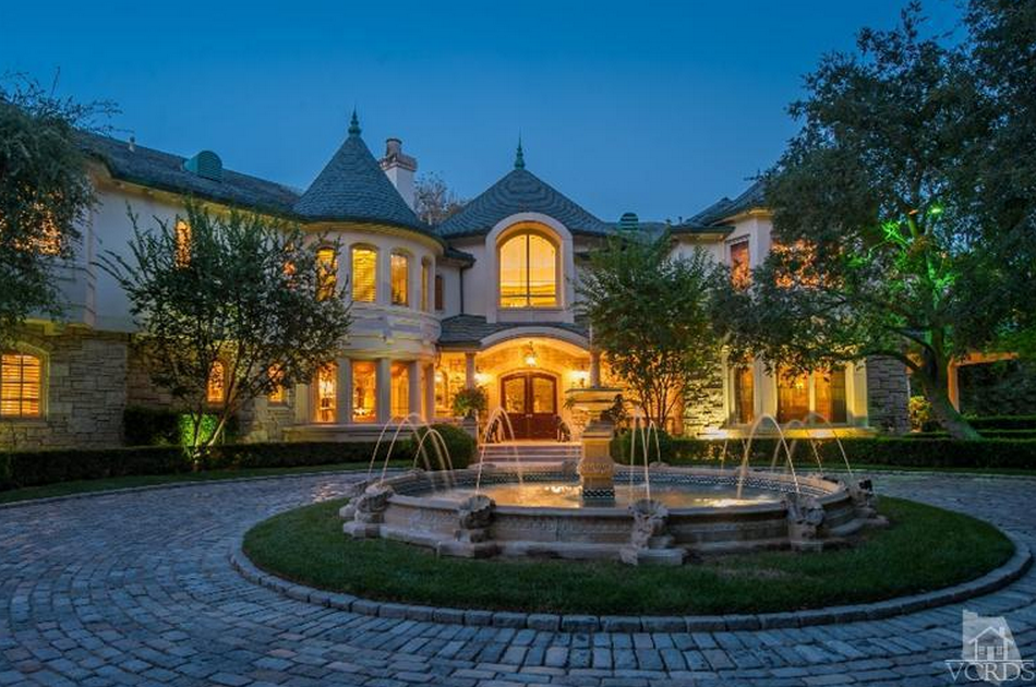 $12.9 Million 18,000 Square Foot French Country Inspired Mansion In Westlake Village, CA