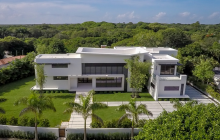 12,000 Square Foot Newly Built Modern Mansion In Miami, FL