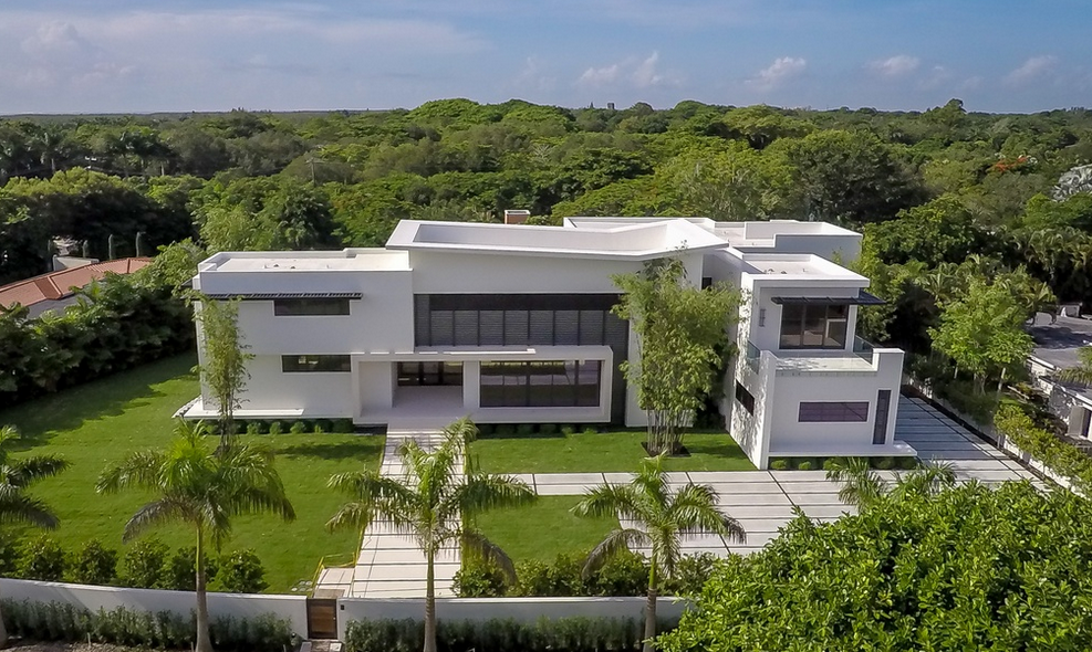 12 000 Square Foot Newly Built Modern Mansion In Miami Fl