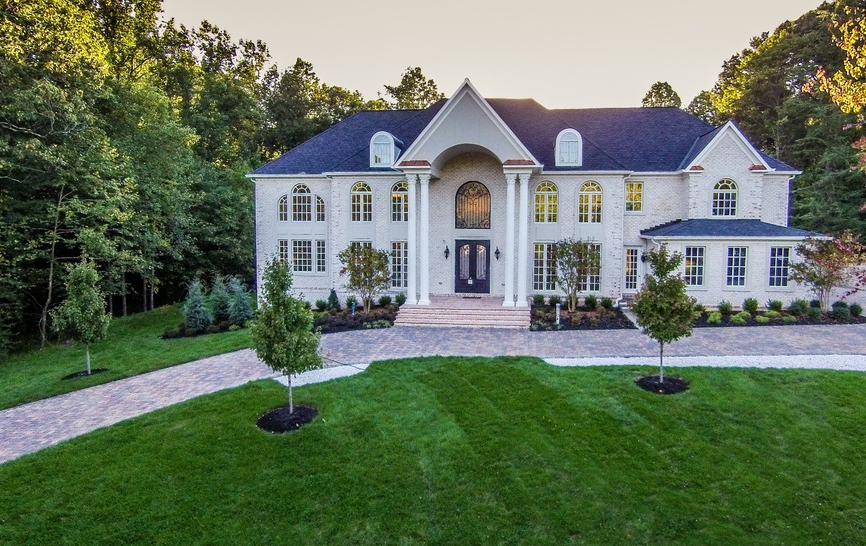 11,000 Square Foot Newly Built Brick Mansion In Rockville, MD