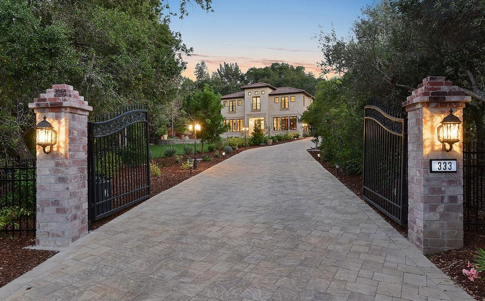$11.888 Million Newly Built Home In Atherton, CA