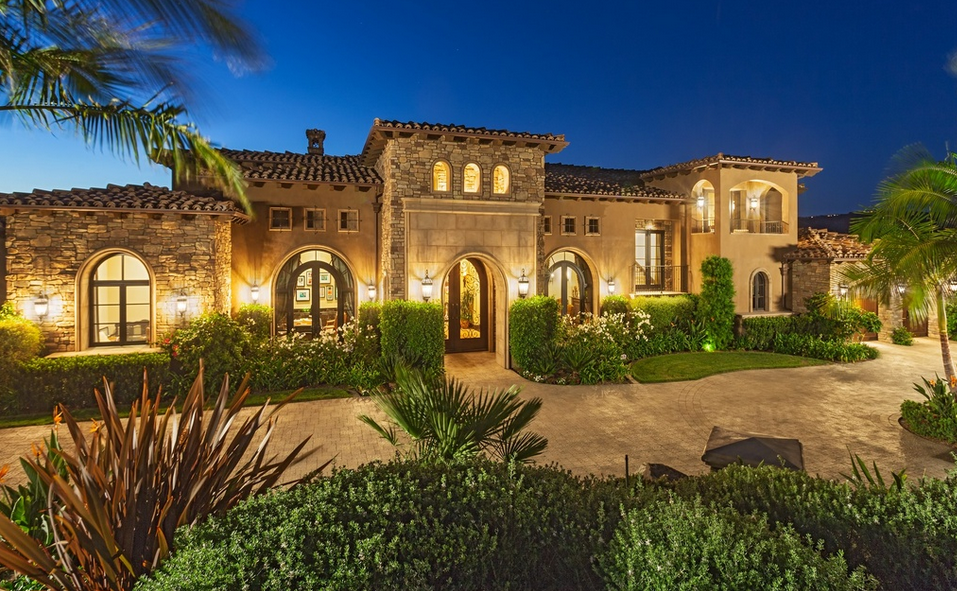 4 7 million mediterranean mansion in san diego ca for Mansions in san francisco for sale